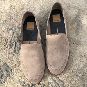 DOLCE VITA Loafer Shoes - Neutral Suede